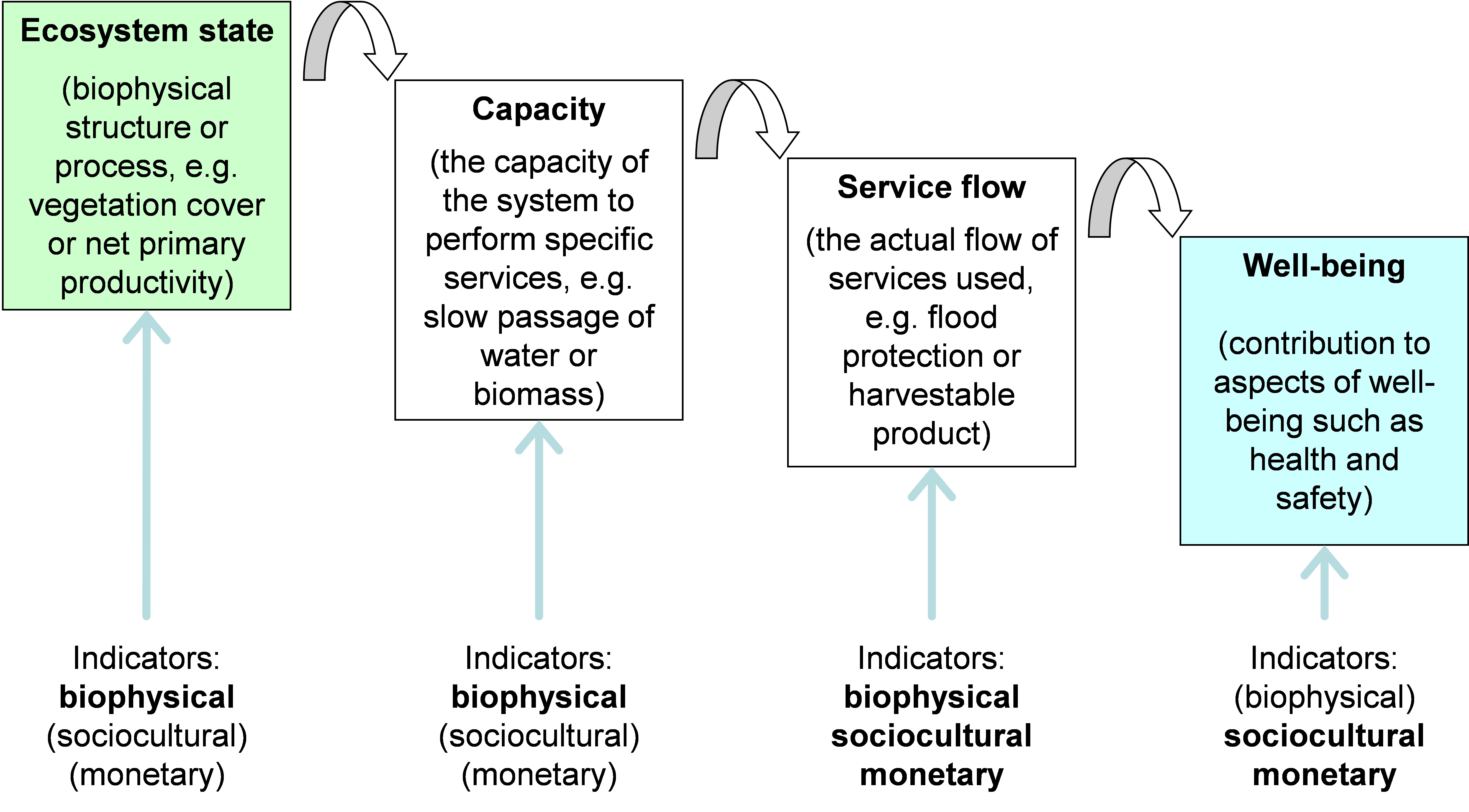 Water balance is the most important indicator of the ecosystem